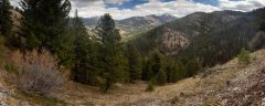 Tetons Beyond Mikesell Canyon