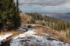 Teton Valley Below Snake River Mountains