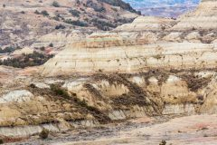 Badlands Hills Abstract
