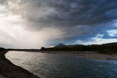 Thunderstorm over Snake River