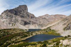 Lizard Head Peak and Bear Lake