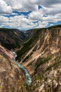 Yellowstone River Carving Through Grand Canyon