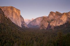 Evening from Tunnel View
