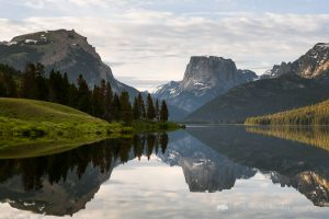 Green River Lakes in the Wind River Mountains
