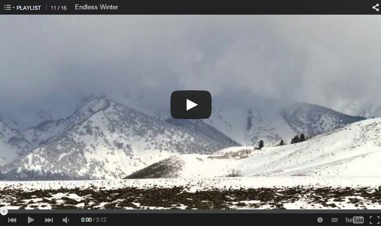 'Endless Winter' Time-Lapse Video