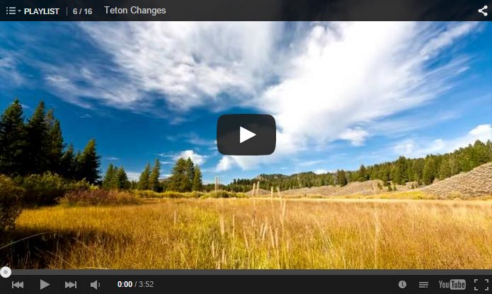 Teton Changes – Video of Fall in Grand Teton National Park