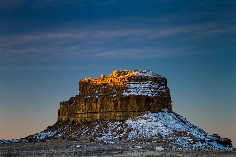 Fajada Butte of Chaco Culture National Historic Park