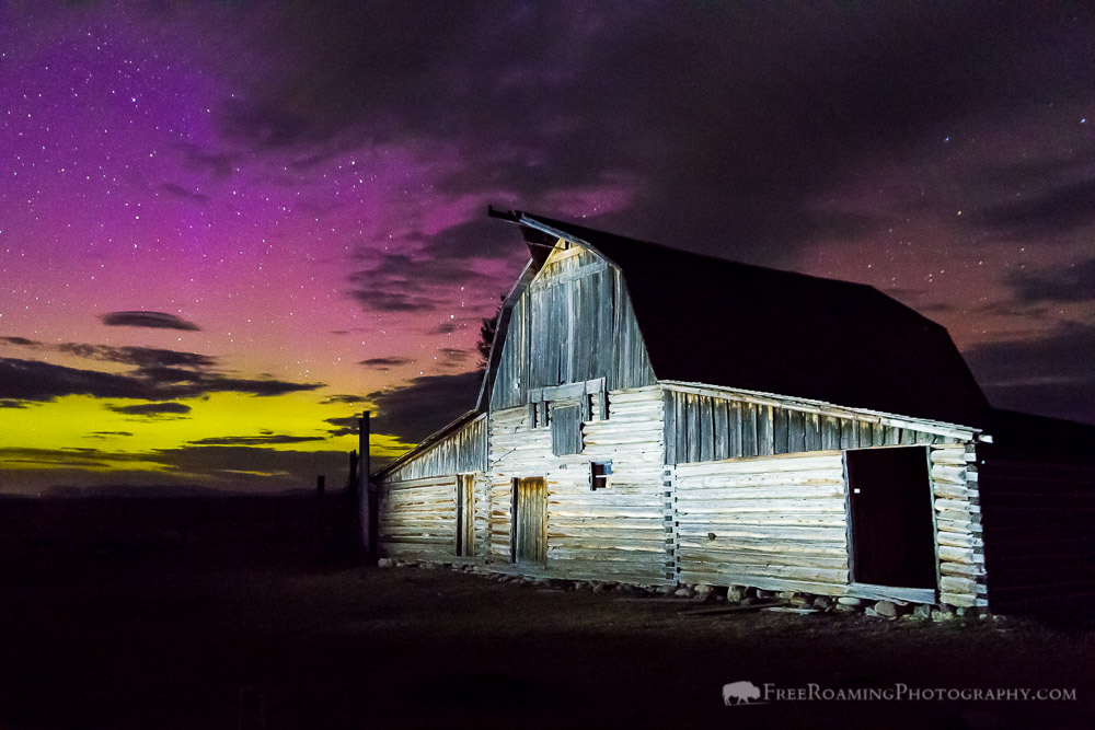 How I Shot It – Northern Lights and the Moulton Barn