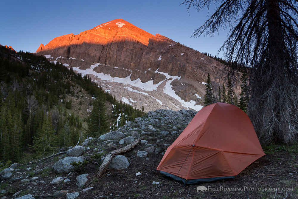 How I Shot It – Backpacking Tent Under Evening Light