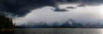 Storms Arching over Jackson Lake