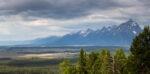 Teton Mountains Above Jackson Hole